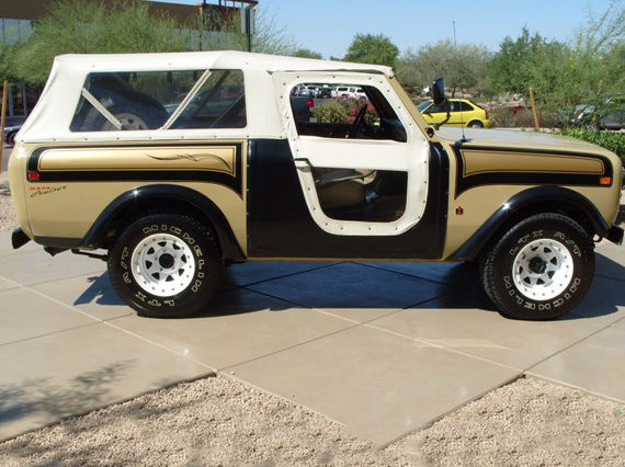1977 International Scout SSII Matching Numbers Award Winner presented as lot T187 at Monterey, CA 2012 - image7