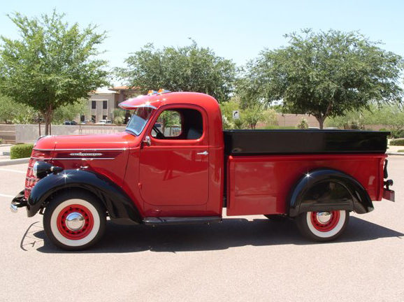 1937 International D2 Pickup Loaded with Every Option Available in 1937 presented as lot T192 at Monterey, CA 2012 - image2