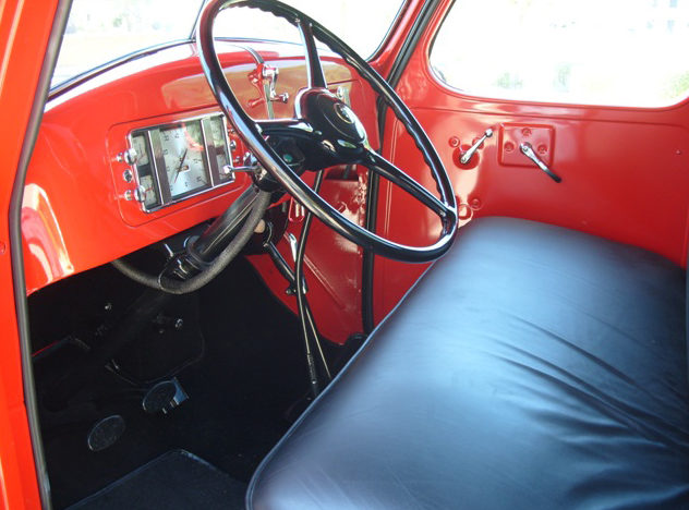 1937 International D2 Pickup Loaded with Every Option Available in 1937 presented as lot T192 at Monterey, CA 2012 - image3