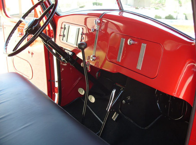 1937 International D2 Pickup Loaded with Every Option Available in 1937 presented as lot T192 at Monterey, CA 2012 - image4