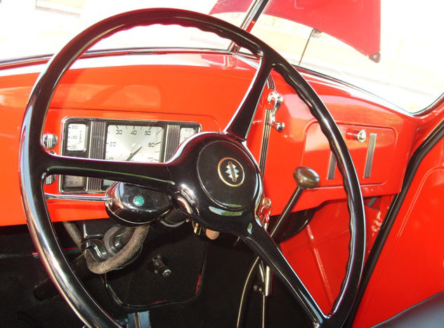 1937 International D2 Pickup Loaded with Every Option Available in 1937 presented as lot T192 at Monterey, CA 2012 - image5
