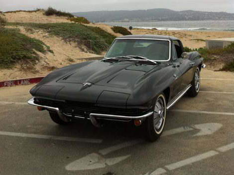 1964 Chevrolet Corvette Coupe 327/375 HP, Fuel Injection presented as lot F82 at Monterey, CA 2012 - image8
