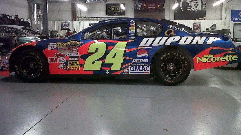 Rick Hendricks Chevrolet >> 2006 Chevrolet Monte Carlo #24 NASCAR   Mecum Monterey 2012   F141