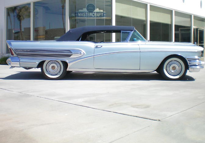1958 Buick Roadmaster 75 Convertible 364/300 HP, Automatic presented as lot F163 at Monterey, CA 2012 - image7