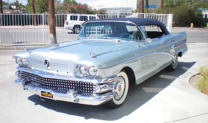 1958 Buick Roadmaster 75 Convertible 364/300 HP, Automatic presented as lot F163 at Monterey, CA 2012 - image8