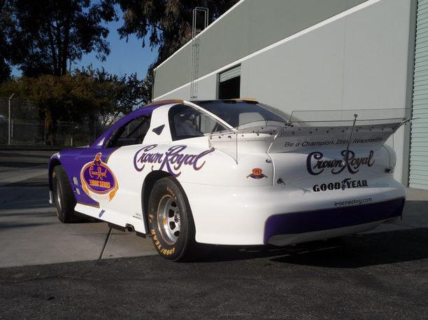 1996 Pontiac Trans Am IROC Race Car presented as lot F168 at Monterey, CA 2012 - image2