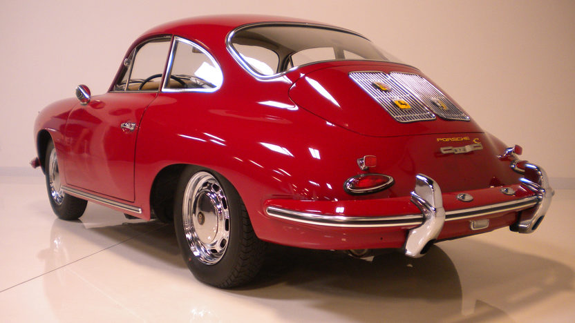 1964 Porsche 356 C Coupe Porsche N.A. Certificate of Authenticity  presented as lot F190 at Monterey, CA 2012 - image2
