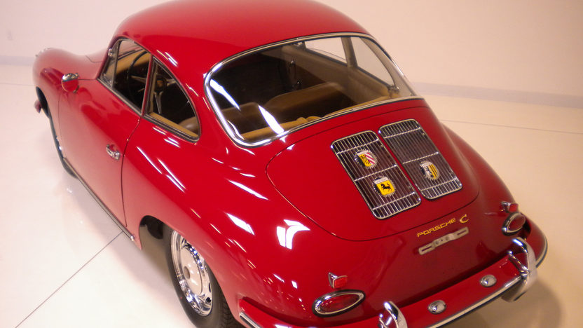 1964 Porsche 356 C Coupe Porsche N.A. Certificate of Authenticity  presented as lot F190 at Monterey, CA 2012 - image5