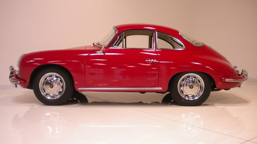 1964 Porsche 356 C Coupe Porsche N.A. Certificate of Authenticity  presented as lot F190 at Monterey, CA 2012 - image7