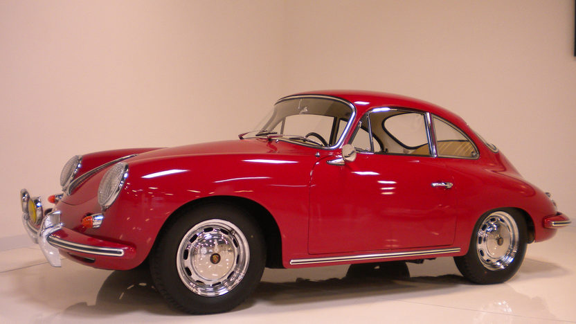 1964 Porsche 356 C Coupe Porsche N.A. Certificate of Authenticity  presented as lot F190 at Monterey, CA 2012 - image8