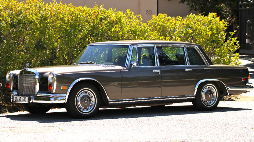 1972 mercedes benz 600 limousine mecum monterey 2012 f213 for 1972 mercedes benz