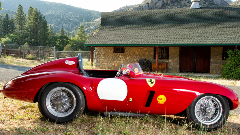 1954 Ferrari 750 Monza Spyder Scaglietti S/N 0462MD: The Second Monza 750 Built presented as lot S97 at Monterey, CA 2012 - image3