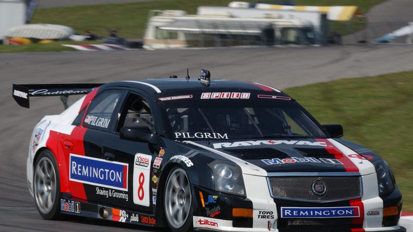 2008 Cadillac CTS-V Factory Race Car