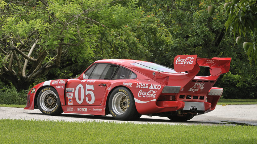 1977 Porsche 935 Factory Built Customer Car presented as lot S115 at Monterey, CA 2012 - image3