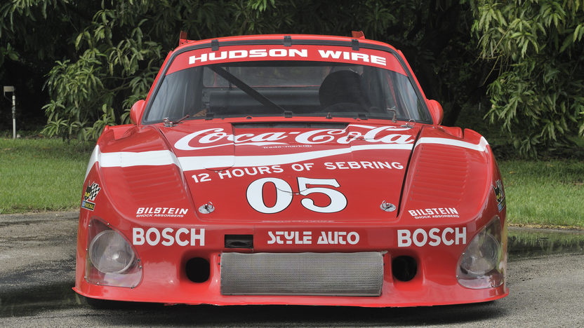 1977 Porsche 935 Factory Built Customer Car presented as lot S115 at Monterey, CA 2012 - image8