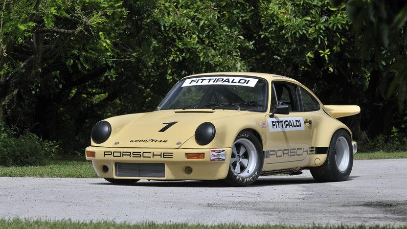 1974 Porsche 911 RSR IROC The Emerson Fittipaldi Car presented as lot S116 at Monterey, CA 2012 - image12