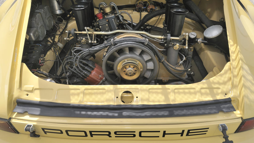 1974 Porsche 911 RSR IROC The Emerson Fittipaldi Car presented as lot S116 at Monterey, CA 2012 - image6