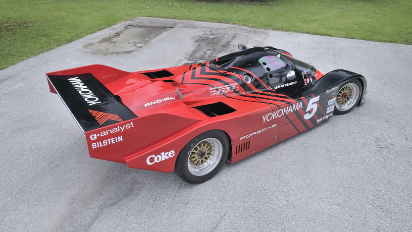 1987 Porsche 962 Bob Akin's Last 962 presented as lot S120 at Monterey, CA 2012 - image12