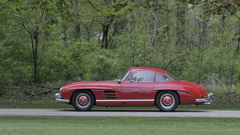 1956 Mercedes-Benz 300SL Gullwing Chassis# 5500637, Matching Luggage presented as lot S128 at Monterey, CA 2012 - image2