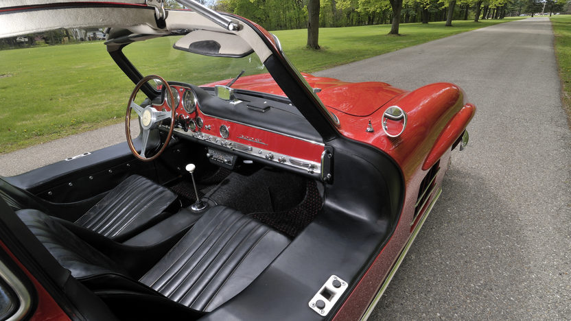 1956 Mercedes-Benz 300SL Gullwing Chassis# 5500637, Matching Luggage presented as lot S128 at Monterey, CA 2012 - image5