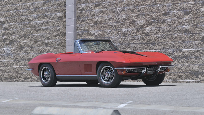 1967 Chevrolet Corvette Convertible 427/435 HP, Bloomington Gold Certified presented as lot S143 at Monterey, CA 2012 - image12