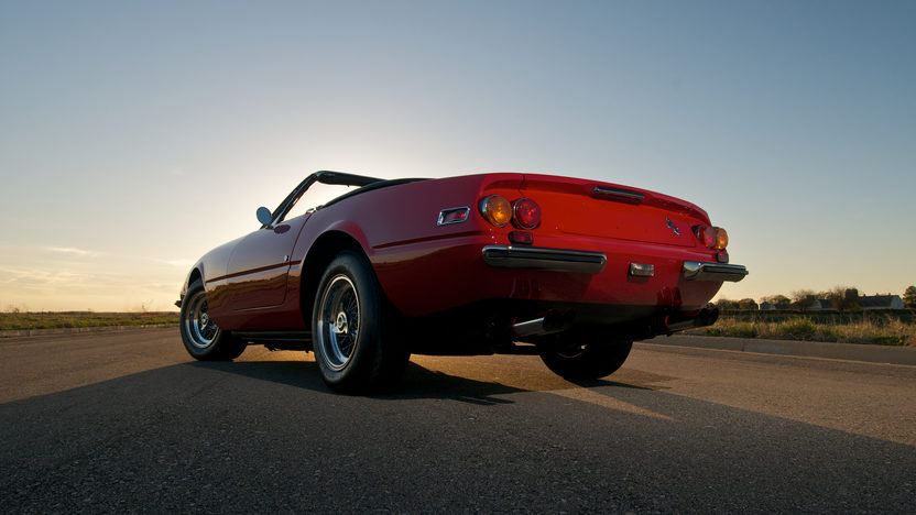 1972 Ferrari 365 GTB/4 Daytona Spyder 1 of 122 Produced, Only 21,185 Miles presented as lot S151 at Monterey, CA 2012 - image10