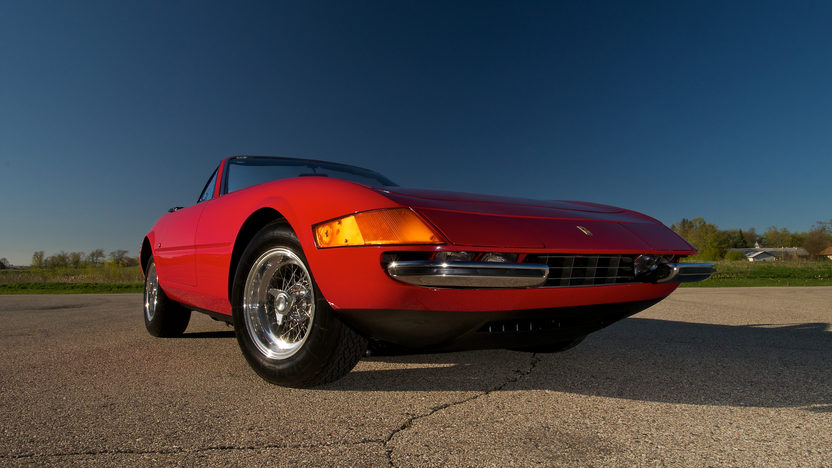 1972 Ferrari 365 GTB/4 Daytona Spyder 1 of 122 Produced, Only 21,185 Miles presented as lot S151 at Monterey, CA 2012 - image11