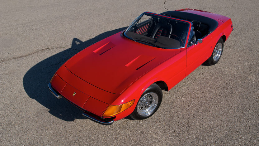 1972 Ferrari 365 GTB/4 Daytona Spyder 1 of 122 Produced, Only 21,185 Miles presented as lot S151 at Monterey, CA 2012 - image12