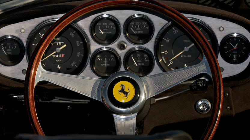 1972 Ferrari 365 GTB/4 Daytona Spyder 1 of 122 Produced, Only 21,185 Miles presented as lot S151 at Monterey, CA 2012 - image5