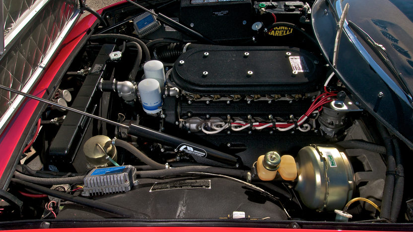1972 Ferrari 365 GTB/4 Daytona Spyder 1 of 122 Produced, Only 21,185 Miles presented as lot S151 at Monterey, CA 2012 - image7