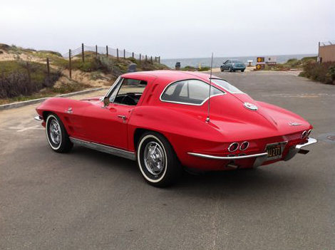 1963 Chevrolet Corvette Split Window Coupe 327/360 HP, 4-Speed presented as lot S99 at Monterey, CA 2012 - image7