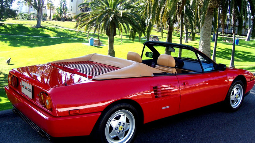 1991 Ferrari Mondial T Cabriolet 3.4/300 HP, 5-Speed presented as lot S56 at Monterey, CA 2012 - image2