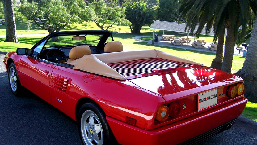 1991 Ferrari Mondial T Cabriolet 3.4/300 HP, 5-Speed presented as lot S56 at Monterey, CA 2012 - image7