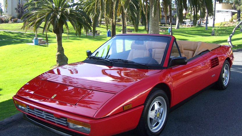 1991 Ferrari Mondial T Cabriolet 3.4/300 HP, 5-Speed presented as lot S56 at Monterey, CA 2012 - image8