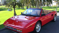 1991 Ferrari Mondial T Cabriolet 3.4/300 HP, 5-Speed presented as lot S56 at Monterey, CA 2012 - thumbail image8