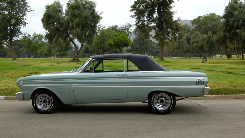 1964 Ford Falcon Sprint Convertible 289 CI, 4-Speed presented as lot T64 at Monterey, CA 2013 - image2