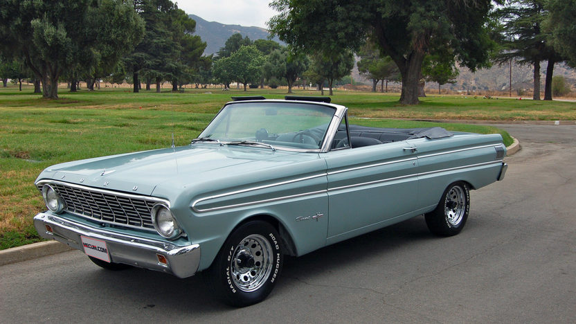 1964 Ford Falcon Sprint Convertible 289 CI, 4-Speed presented as lot T64 at Monterey, CA 2013 - image7