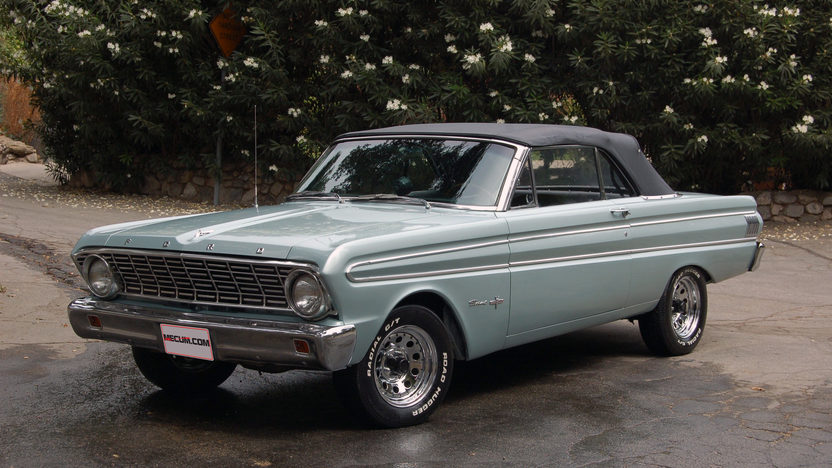 1964 Ford Falcon Sprint Convertible 289 CI, 4-Speed presented as lot T64 at Monterey, CA 2013 - image8