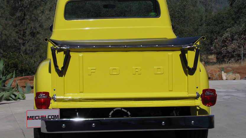 1955 Ford F100 Pickup 223/115 HP, 4-Speed presented as lot T102 at Monterey, CA 2013 - image3