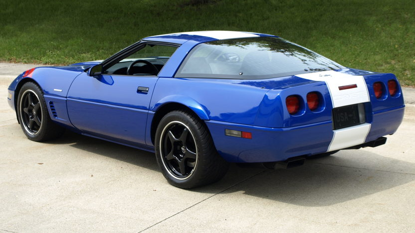1996 Chevrolet Corvette Grand Sport LT4/330 HP, 6-Speed, 5,400 Miles presented as lot T109 at Monterey, CA 2013 - image3
