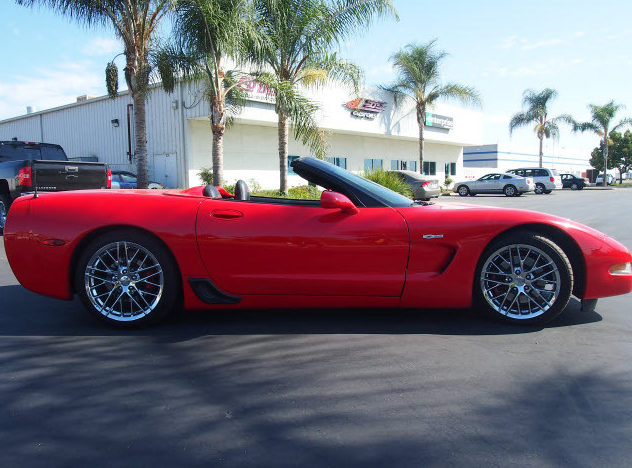 2003 Chevrolet Corvette Z06 Custom Convertible, Lambo Doors presented as lot T119 at Monterey, CA 2013 - image2