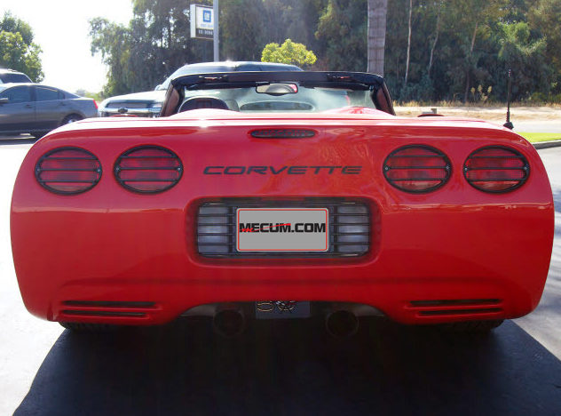2003 Chevrolet Corvette Z06 Custom Convertible, Lambo Doors presented as lot T119 at Monterey, CA 2013 - image3
