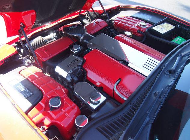 2003 Chevrolet Corvette Z06 Custom Convertible, Lambo Doors presented as lot T119 at Monterey, CA 2013 - image4