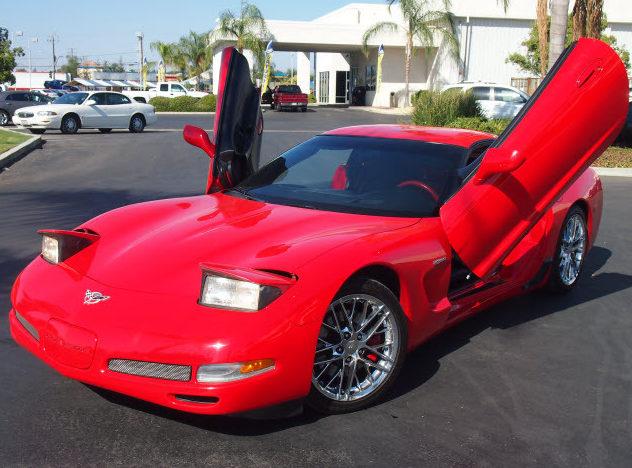 2003 Chevrolet Corvette Z06 Custom Convertible, Lambo Doors presented as lot T119 at Monterey, CA 2013 - image6