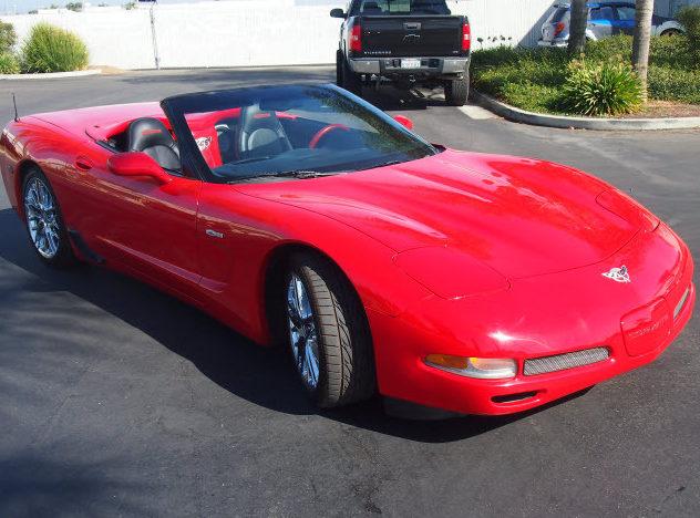 2003 Chevrolet Corvette Z06 Custom Convertible, Lambo Doors presented as lot T119 at Monterey, CA 2013 - image7
