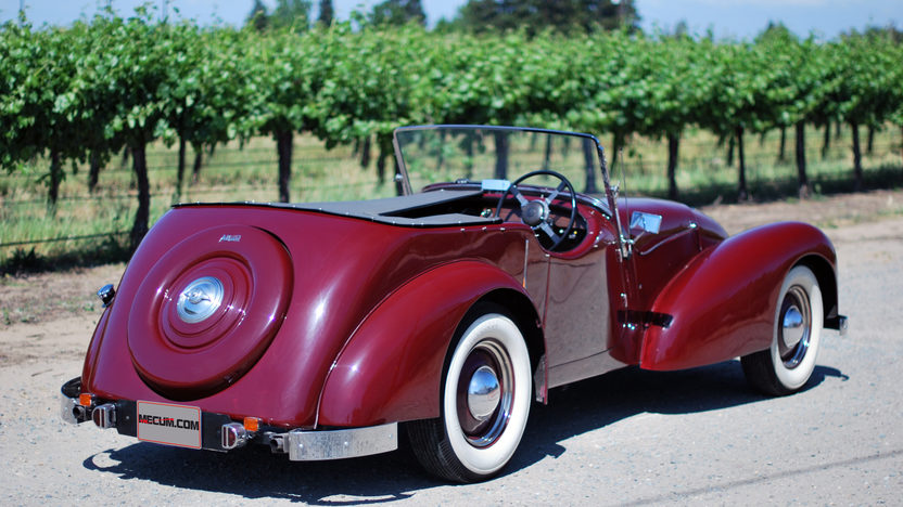 1948 Allard L Type Roadster Right Hand Drive, New Interior presented as lot T121 at Monterey, CA 2013 - image2