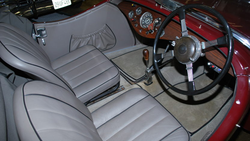 1948 Allard L Type Roadster Right Hand Drive, New Interior presented as lot T121 at Monterey, CA 2013 - image4