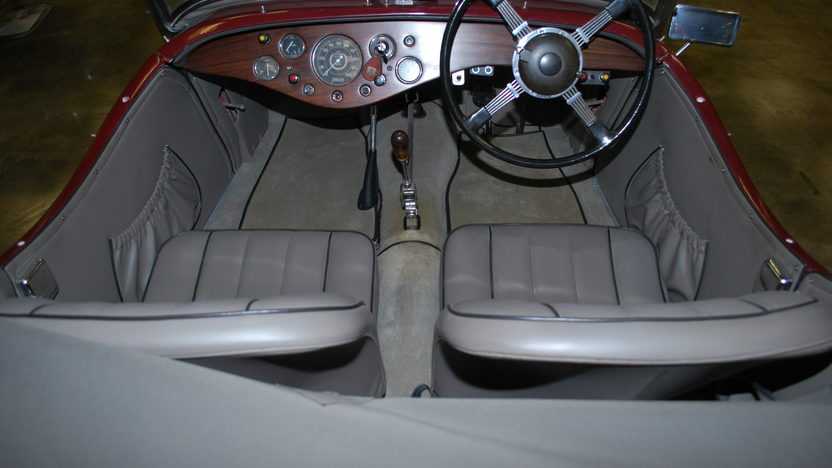 1948 Allard L Type Roadster Right Hand Drive, New Interior presented as lot T121 at Monterey, CA 2013 - image5