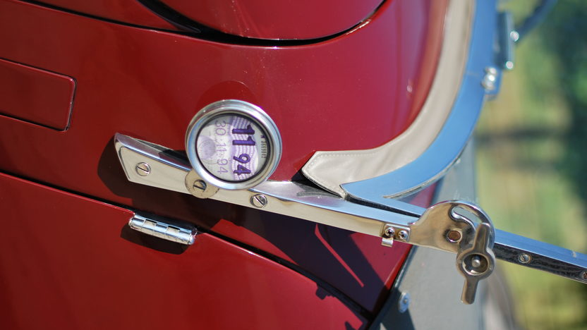 1948 Allard L Type Roadster Right Hand Drive, New Interior presented as lot T121 at Monterey, CA 2013 - image7