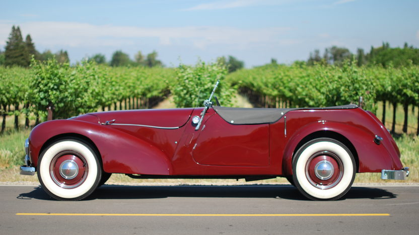1948 Allard L Type Roadster Right Hand Drive, New Interior presented as lot T121 at Monterey, CA 2013 - image8